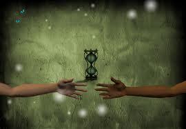 PLRT Hands Reach thru time